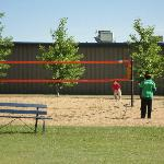 Outdoor volleyball courts, Centennial Park