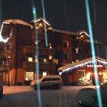 esterno mentre nevicava