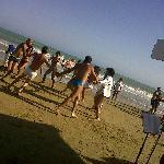 balli in spiaggia