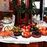 Breakfast buffet / Frühstücksbuffet
