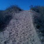 Hiking trail Little Sahara