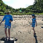 Our kids at Tibay beach