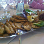 the grilled fish plate