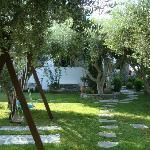 Pension Sofia- vista del giardino