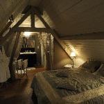La chambre de la Maison des Ecureuils