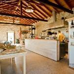 Olive oil mill & open kitchen