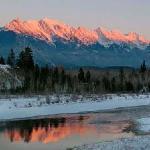 Steeples Mountain Range