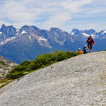 Hiking the surrounding peaks. Photo: Mike Wigle