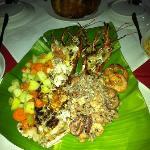 Delicious sea food