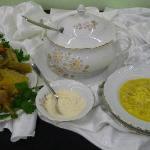 piatto arrivato secondo alla gara di 'cucina contadina' ad agri&tour 2011