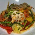 Nobu's Spicy Vegetables
