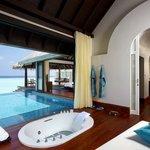 Over-Water Pool Villa Bathroom