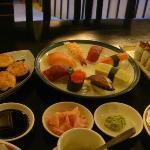 Volcano Sushi, Sushi Moriawase and Kanisoka Special