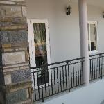 Balcony (view from breakfast balcony).