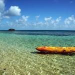 Kayak on our private beach
