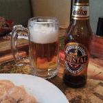 Peruvian Cristal beer - very nice!