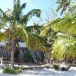La plage devant la maison Bar-Salle à manger