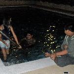 small unheated pool