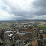 From the Sancerre tower toward Menetroul