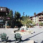 village square in mammoth lakes