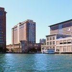 Located on Boston Harbor, the Seaport Hotel offers sweeping city and harbor views.