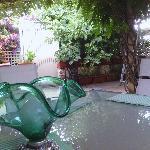 il rilassante giardino