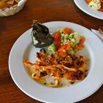 grilled garlic shrimp - my favorite!