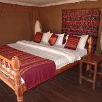 one of the beautiful decorated bedrooms