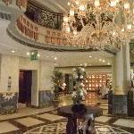 Centrale hal in het hotel