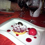 One of the gorgeous desserts