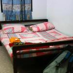 Bed in the main room