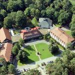 Luftbild des Hotel Döllnsee-Schorfheide