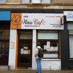 The entrance of Wau Cafe