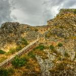 Knin Fortress defensive walls