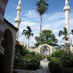 Opa-locka City Hall gardens