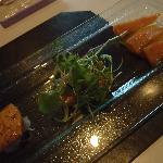 yummy salmon trio