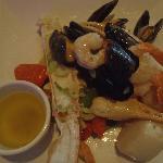 yummy seafood platter