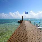 The dock @ Grand Caribe