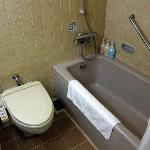 バスルーム;設備は古いが広くて清潔