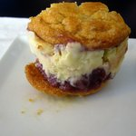 Home made ice-cream sandwich