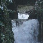 Close-up of Paria Falls