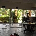 loby area of huhule island hotel