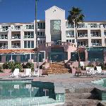 View of Hotel and Pool Area