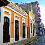 Calle del Sol outside Hotel