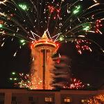New Years at the Space Needle!!
