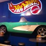 Hot Wheels themed restaurant