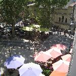 Place Voltaire ffrom the balcony