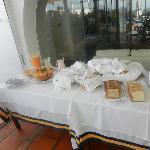 Frugal desayuno de La Posta