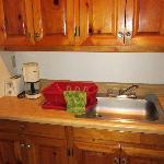 Cabin's Kitchen Cabinet