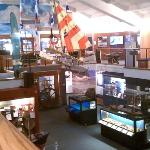 View of the SB Maritime Museum from the 2nd floor.
